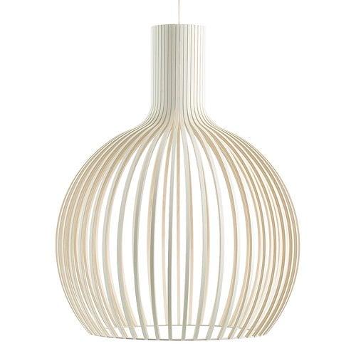 Secto Design Octo 4240 pendant, white