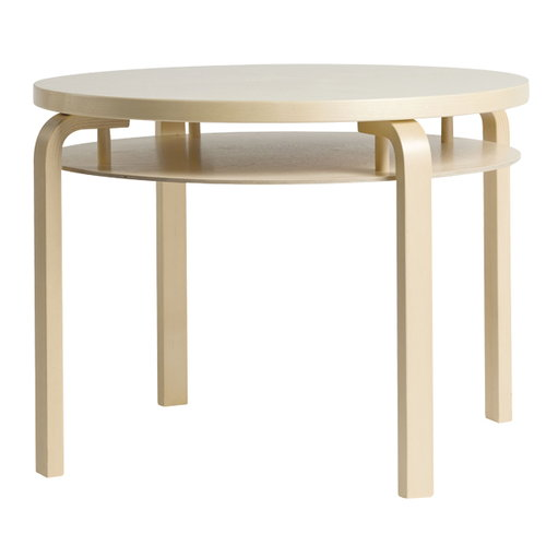 Artek Aalto Double Coffee Table 907B, lacquered birch