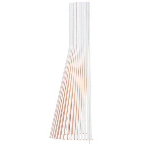 Secto Design Lampada da parete Secto 4230 60 cm, bianca