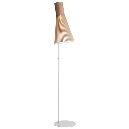 Secto Design Secto floor lamp, walnut