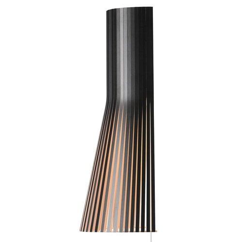 Secto Design Lampada da parete Secto 4231 45 cm, nera
