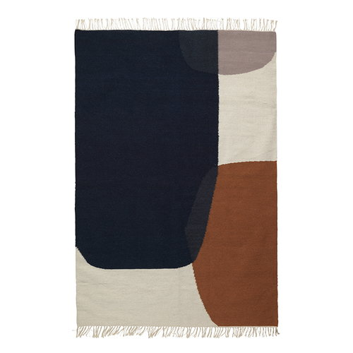 Ferm Living Kelim rug, Merge, large