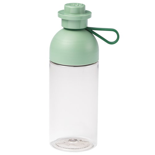 Room Copenhagen Lego drinking bottle, transparent, sand green