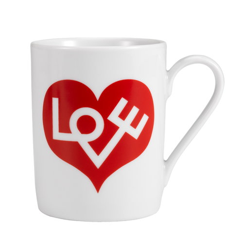 Vitra Mug, Love Heart, red
