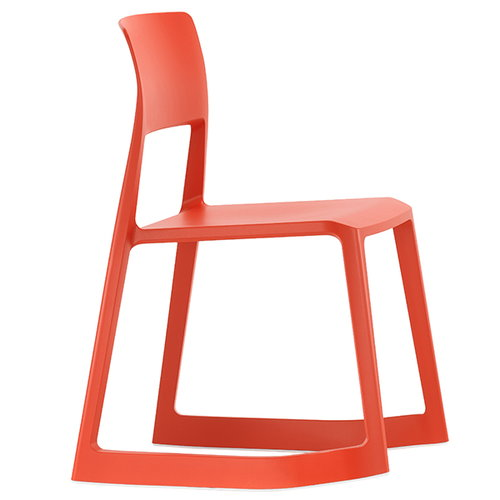 Vitra Tip Ton chair, poppy red