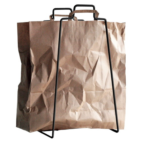 Everyday Design Helsinki paper bag holder, black