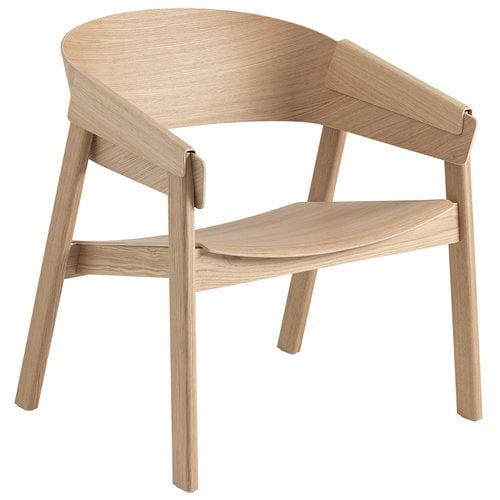 Muuto Cover lounge chair, oak