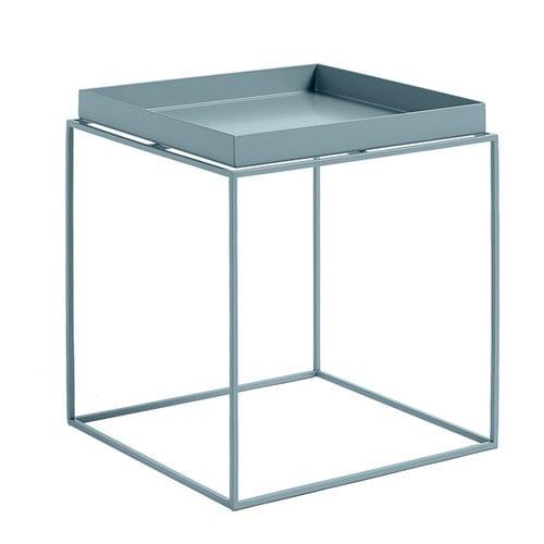 Hay Tray table medium square, blue