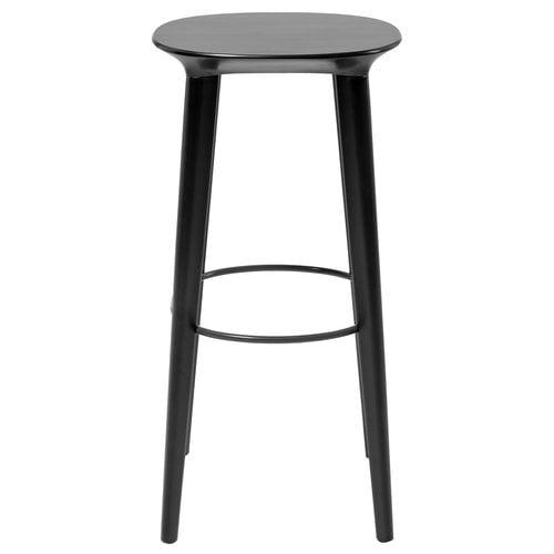 Minus Tio Audrey bar stool 78 cm, black stained birch