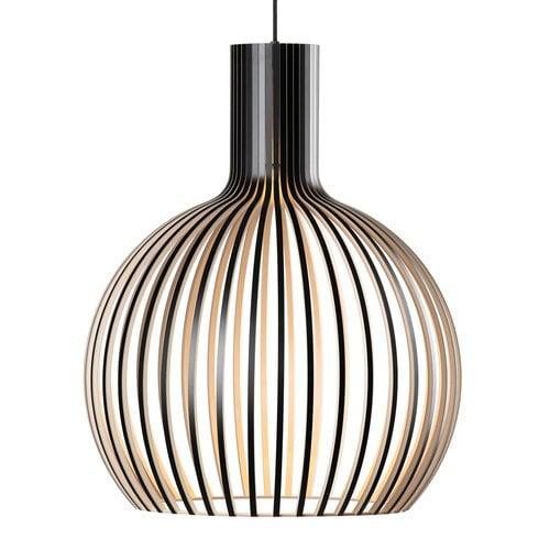 Secto Design Octo Small 4241 pendant, black