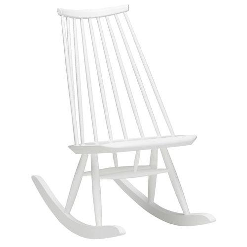 Artek Mademoiselle rocking chair, white