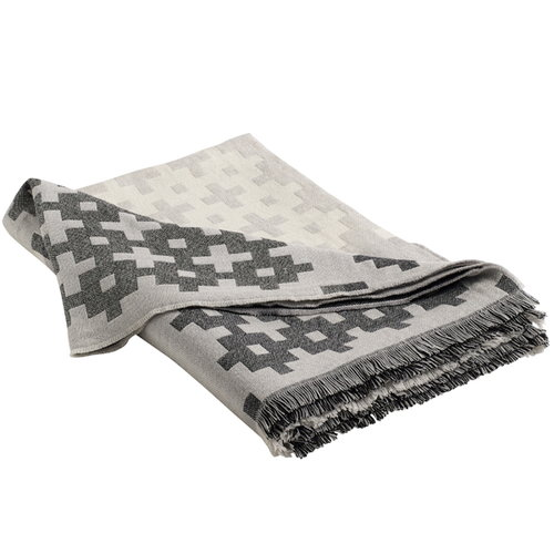 Hay Plus 9 blanket, grey