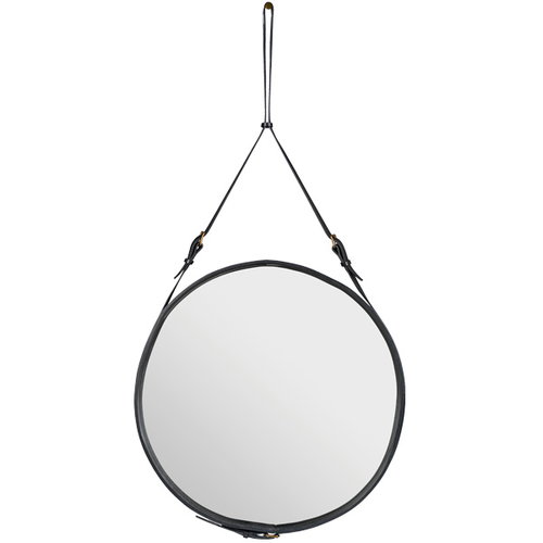 Gubi Adnet mirror L, black