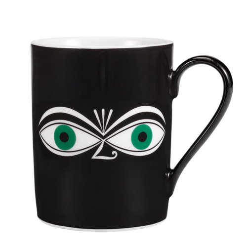 Vitra Mug, Eyes, green