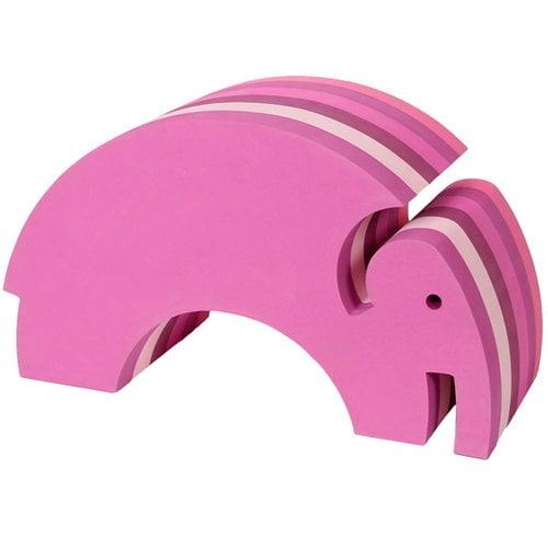 bObles Elefantti, vaaleanpunainen