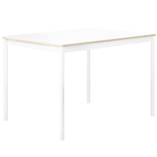 Muuto Base table 140 x 80 cm, laminate with plywood edges