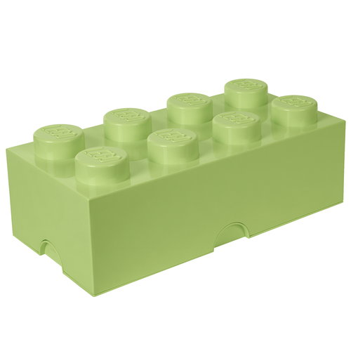 Room Copenhagen Lego Storage Brick 8, spring yellowish green