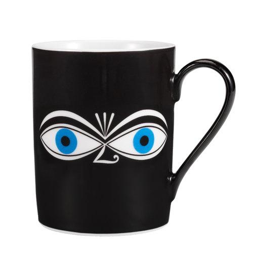 Vitra Mug, Eyes, blue