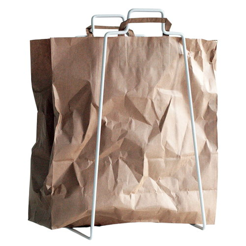 Everyday Design Helsinki paper bag holder, white