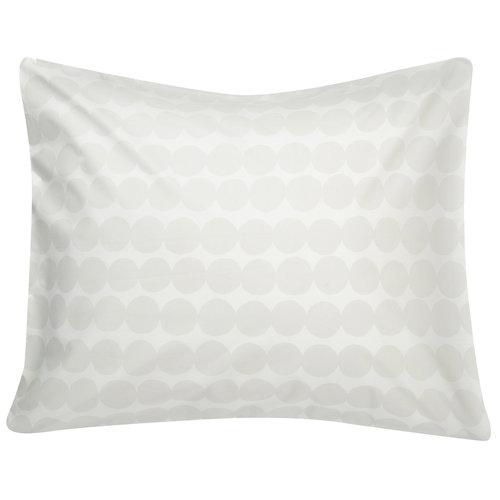 Marimekko Räsymatto pillowcase, white - grey