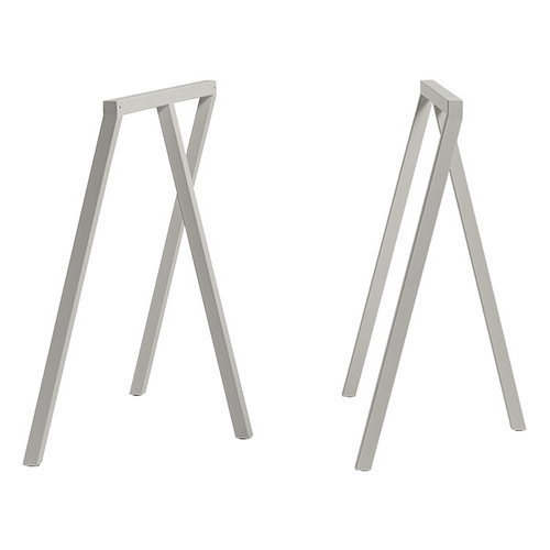 Hay Loop Stand frame, 2 pcs, grey