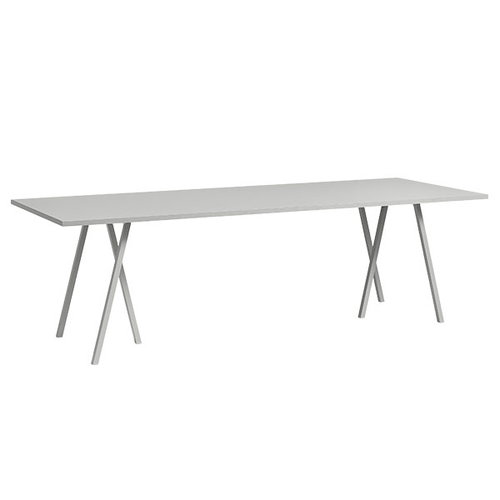 Hay Loop Stand table, 200 cm, grey