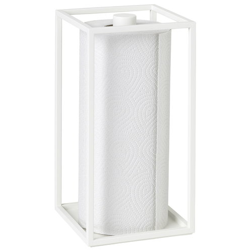 By Lassen Kubus Roll'in kitchen paper holder, white