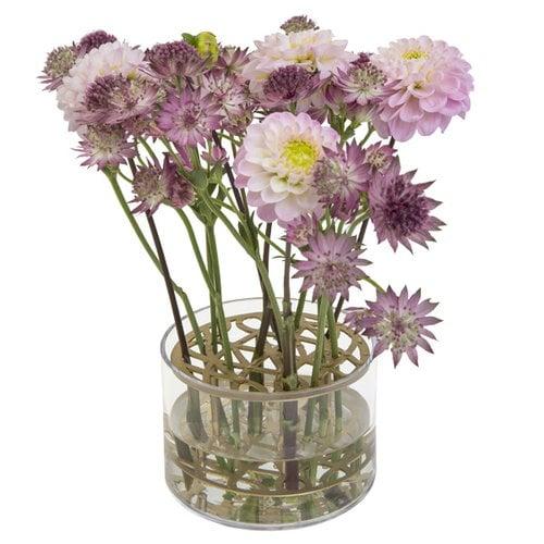 Klong �ng vase, small, brass
