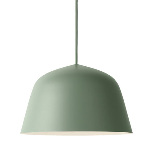 Muuto Ambit pendant, small, dusty green