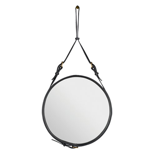 Gubi Adnet mirror S, black