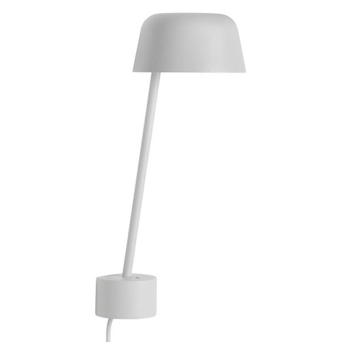 Muuto Lean wall lamp, grey