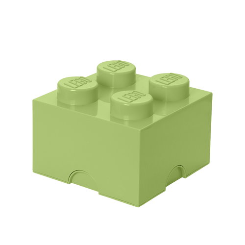 Room Copenhagen Lego Storage Brick 4, spring yellowish green