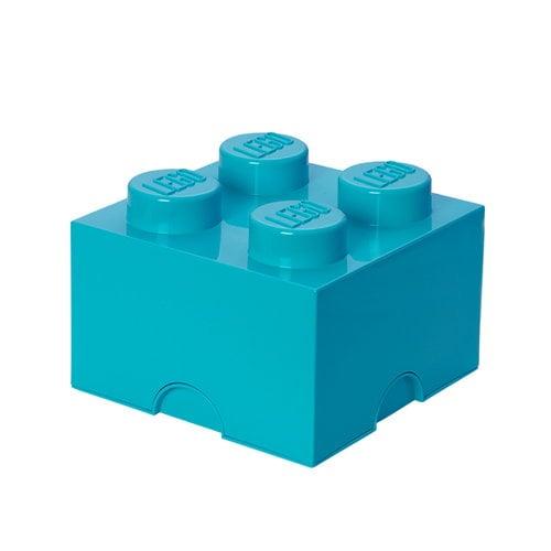 Room Copenhagen Contenitore Lego 4, azur