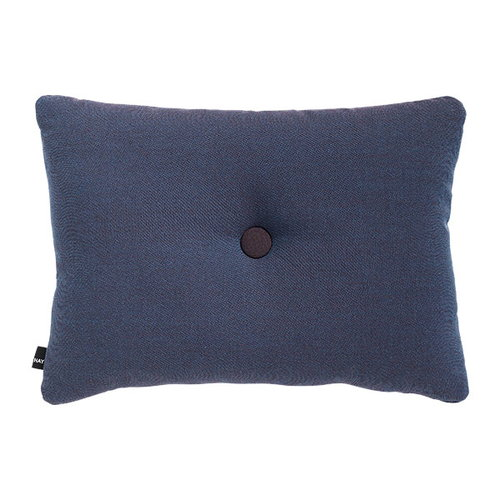 Hay Dot cushion, Rime, pigeon blue