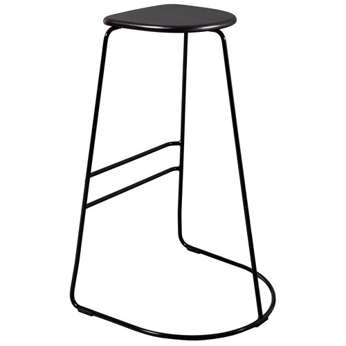 Minus Tio Citizen Ghost bar stool 78 cm,  black - birch