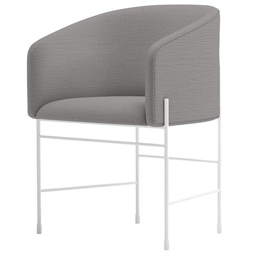 New Works Covent chair, white grey