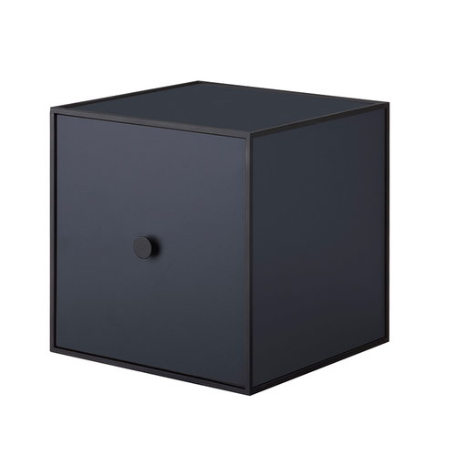 By Lassen Frame 28 box with door, dark blue