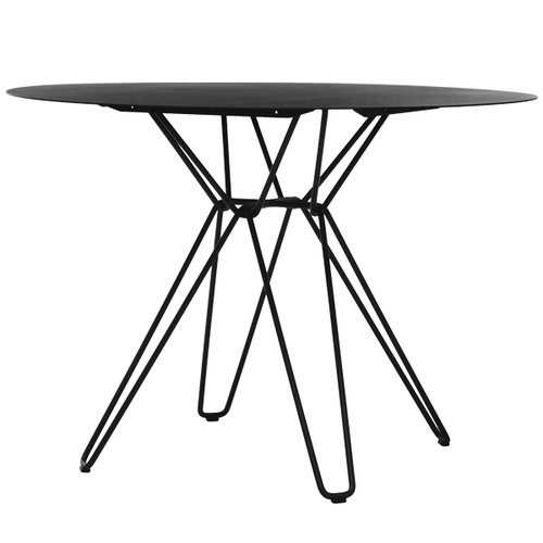 Massproductions Tio dining table, black