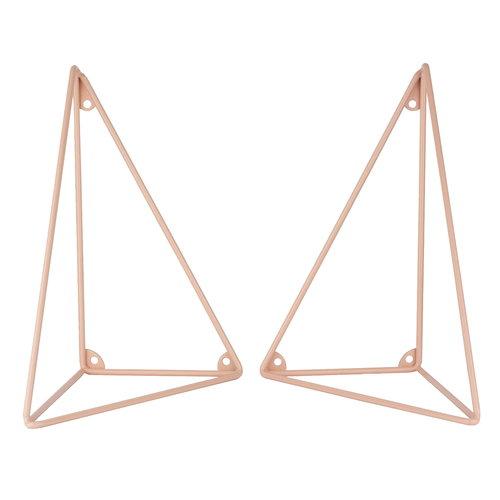 Maze Pythagoras brackets 2 pcs, pink