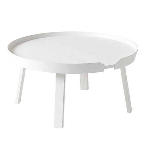 Muuto Around table large, white