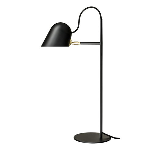 �rsj� Streck table lamp, black-brass