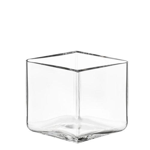 Iittala Ruutu vase, 115 x 80 mm, clear