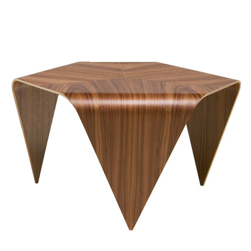 Artek Trienna coffee table, walnut