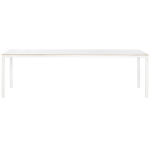 Hay T12 table, white laminate