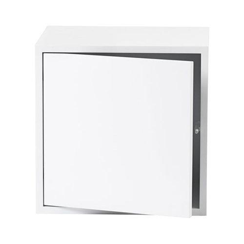 Muuto Stacked module with door, medium, white
