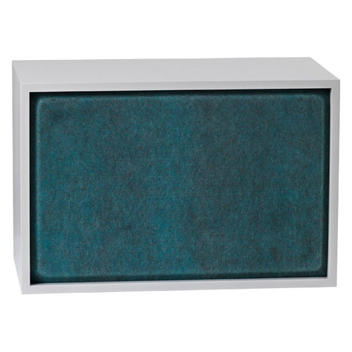 Muuto Stacked acoustic panel, large, aqua melange