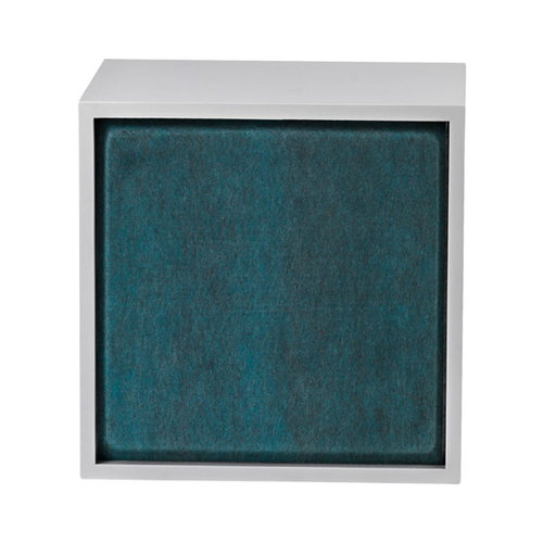 Muuto Stacked acoustic panel, medium, aqua melange