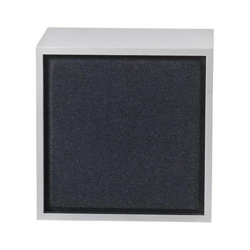 Muuto Stacked acoustic panel, medium, black melange