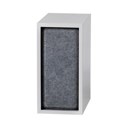 Muuto Stacked akustiikkapaneeli, pieni, grey melange