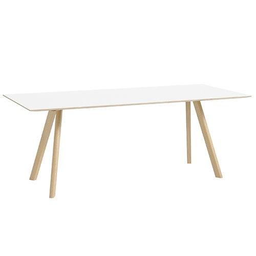Hay CPH30 pöytä 200x90 cm, mattalakattu tammi - valkoinen laminaatti